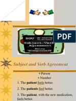 SUBJECT-VERB AGREEMENT.ppt