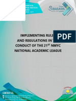 Nfjpia1819 - National Mid Year Conventon Academic League
