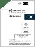 Diagrama de Mangueras Hidraulicas