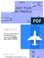 Flight-Tour and Travels