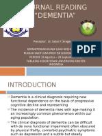 Journal Reading Dementia