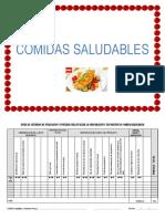 Ficha de Criterios de Evaluacion Para Gastronomia