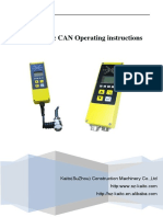 Kaito-matic CAN Operating Instructions