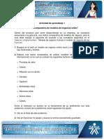 Evidencia 9 Matriz Comparativa de Modelos de Negocios Online