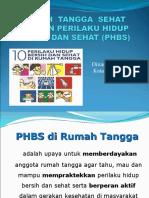 PHBS RUMAH TANGGA