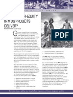 Will Debt-for-MDG projects Deliver?