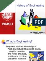 History of Engineering RPVJr
