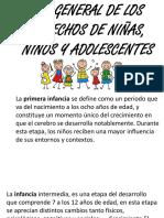 ley general de los derechos de los niños niñas y adolescentes