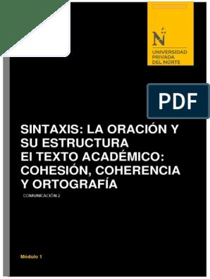 Sintaxis La Oración Y Su Estructura Wikipedia Oración