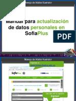manual de actualización de datos senasofiaplus