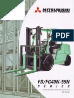 Brosur Mitsubishi Forklift 5ton
