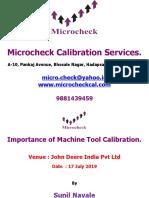 Why to Calibrate CNC Machine