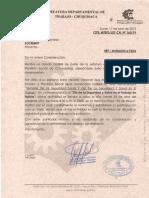 carta de invitacion