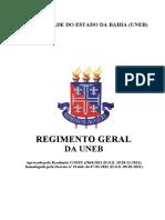 Regimento Geral Da UNEB 1