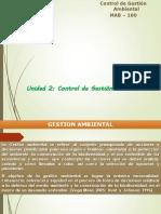 Unidad 2. Control de Gestion Ambiental