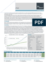 Brait Multi Strategy Fund Overview October 2010