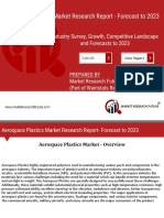 Aerospace Plastics Market Business Overview, Challenges, Opportunities, Trends and Market Analysis by 2023