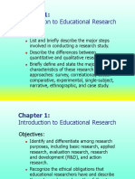 Lesson 1 Introduction to Educational Research