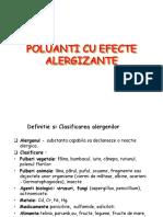 poluanti alergeni