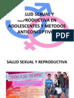 Salud Sexual y Reproductiva en Adolescentes y Metodos