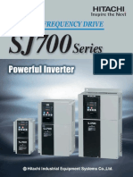 Hitachi Sj700 Series Variable Frequency Drive