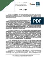 Declaratie Prime TV - Publika TV