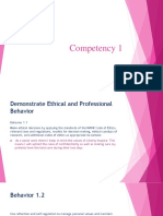 Competency 1 Field Finished With 3.2 PDF