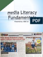 Media Literacy PPT