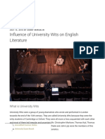 Influence of University Wits on English Literature - BDTIPS.pdf