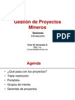 1 1 Gestion de Proyectos Mineros S01_ _Introduccion