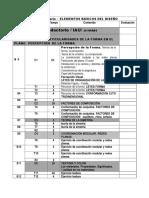 Plan Calendario Elementos Basicos Del Diseño