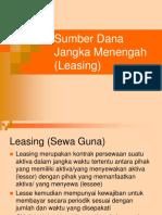 MG 5 Sumber Dana Jangka Menengah (Leasing)