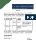 Tourism Research Assistant advertisement.pdf