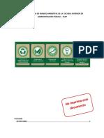 Diseño Del Plan de Manejo Ambiental