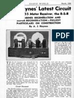 Regenerative - Super Regenerative Receiver