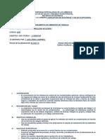Programa Analitico Sanamiento de Trabajo - 2018