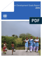 (2015) the Millennium Development Goals Report