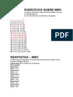 Mmc e Mdc Atividades