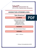 Informe Sala Situacional de Salud - Rotación C.S. JLO