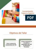 Concientización Trastorno Espectro Autista (TEA) 2019