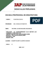 Informe Colegio Jorge Basadre
