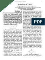 Lapres Karakteristik Dioda E4