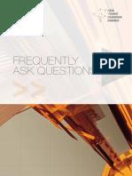 FAQ on Graduate School Design Booklet