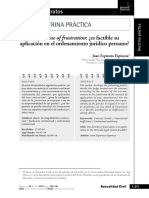 La Doctrine of Frustration