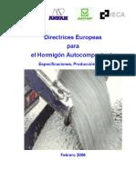 Directrices Europeas Para El Hormigon Autocompactante