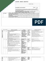 unidades didacticas 1º basico