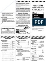 personal minimums checklist.pdf