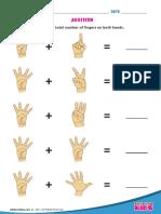 7 Addition Hands