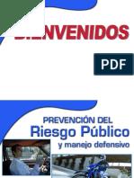Riesgo Publico y Manejo Defensivo
