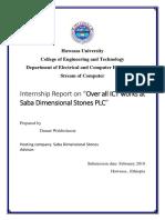Dana Internship Report - Final